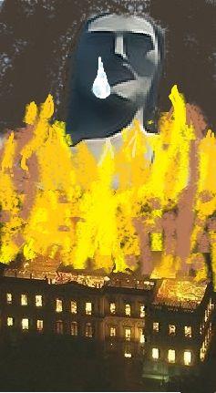Museu em chamas